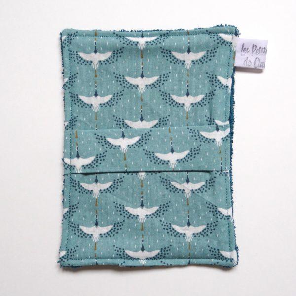oiseaux vert turquoise