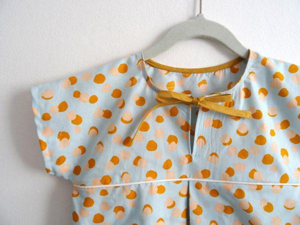 coton robe fillette